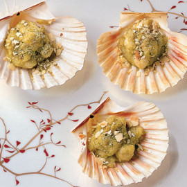 Compra Una - Puglia Shop Online - scallops with almonds